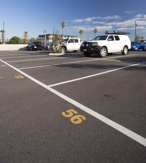 Council car park, Bentleigh